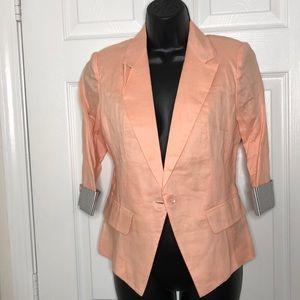 Jackets & Blazers - NWT‼️! Peach🍑- Colored blazer